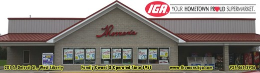 Thoman's IGA - myWestLiberty.com